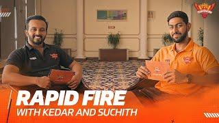 Rapid 🔥 ft. Kedar and Suchith | IPL 2021 | SRH