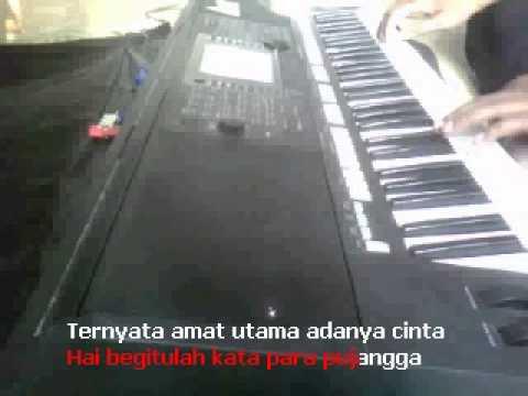 Kata Pujangga Rhoma Irama Karaoke Yamaha S750