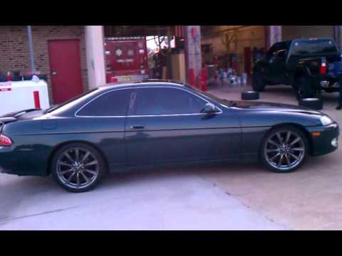 SC400 On Lexus ISF rims - YouTube