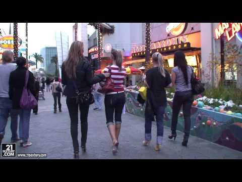 Stunning CS girls, Sandy, Cindy Hope, Jessica Moore and Madison Parker in L.A PART 1