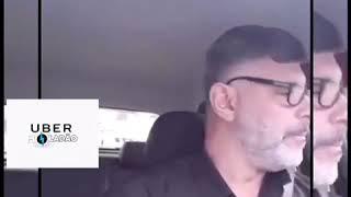Alexandre Frota vira motorista uber em guarulhos