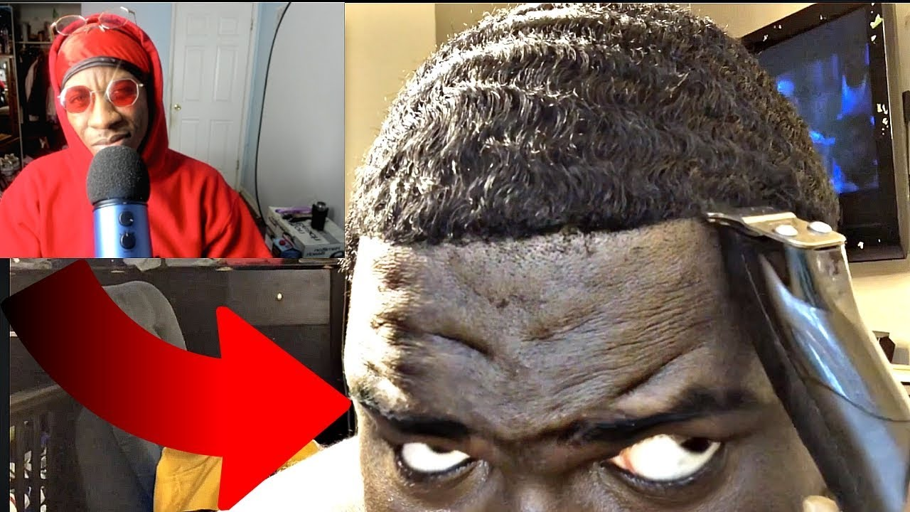 360-waves-how-to-get-360-waves-self-haircut-reaction-video