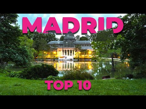 TOP 10 ATTRACTIONS IN MADRID: Madrid Travel Guide. Sightseeing in Madrid (Spain) 2017