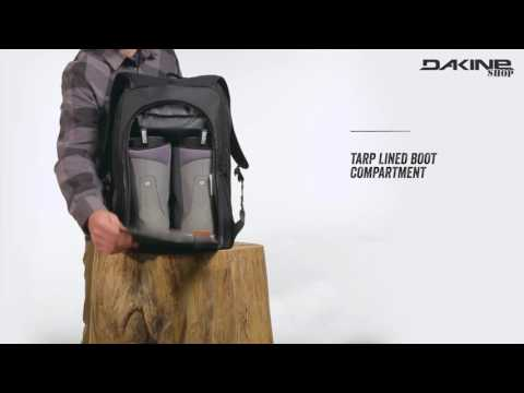 2944c8c828 Dakine Spacious 50L Boot Pack for Ski   Snowboard Boots and Helmet - YouTube