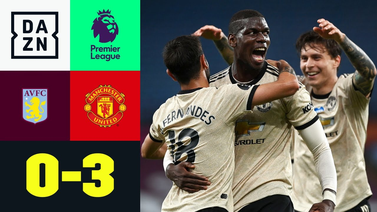 Aston Villa vs Manchester United (0-3) | Resumen | Highlights Premier League