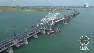 Sans frontières - Moscou : un pont pour relier la Crimée et la Russie