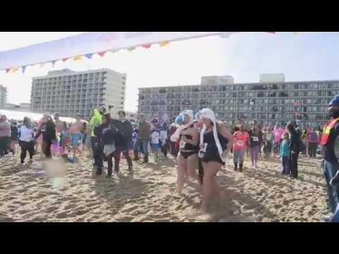 Virginia Beach Oceanfront Polar Plunge 2015