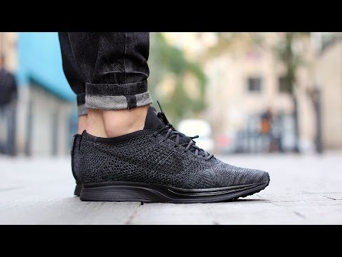 Unboxing: Nike Flyknit Racer Midnight