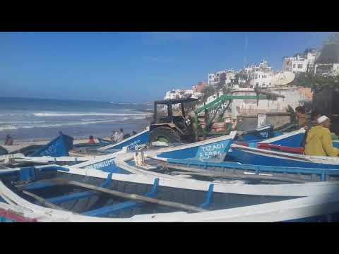 Taghazout the most beautiful  village  of Morocco.