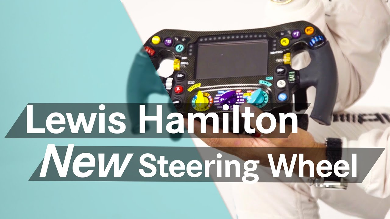 unboxing f1: lewis hamilton's new 2016 steering wheel - youtube
