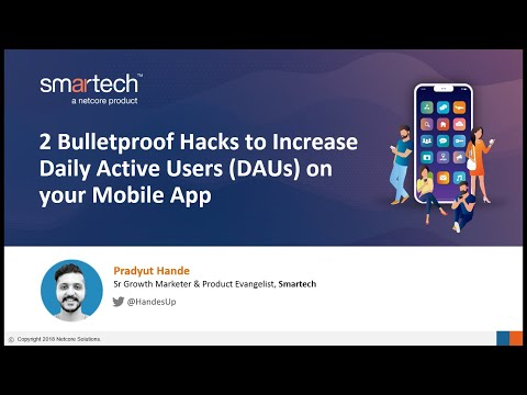 [Webinar] 2 Bulletproof Hacks to Increase Daily Active Users on your Mobile App