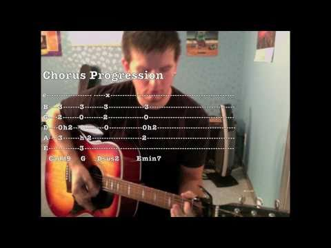 Break Even (Guitar Tutorial) by The Script