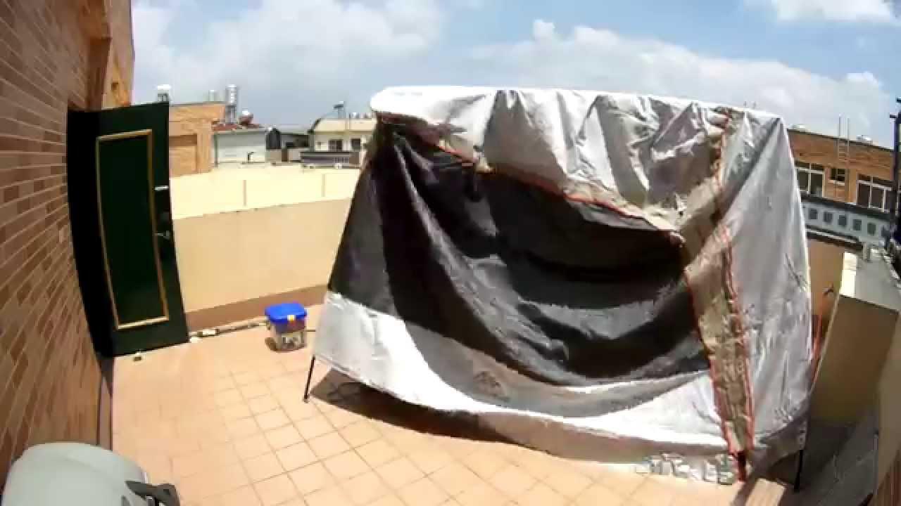 Quechua shelter first time set up test youtube for Carpas plegables decathlon