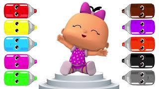 Pepee Şila Bebe Zulu Maymuş | Pepee Renkleri Öğreniyorum | Pepee Boyama | Çocuklar için V   #part 1