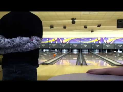 conner begins the bowling league first frame