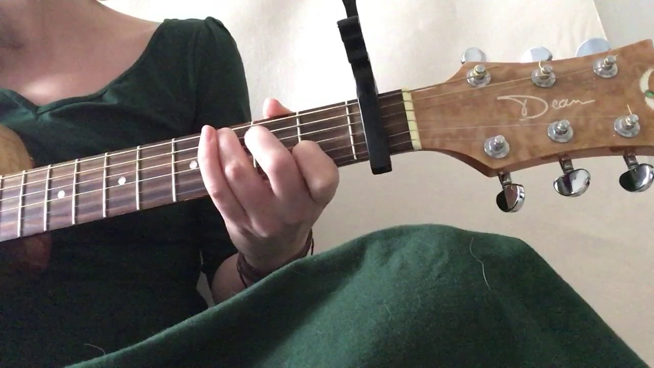 Full Daughter Landfill Guitar Cover   YouTube