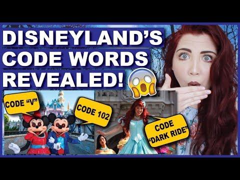 Disneyland's SECRET Code Words Revealed!