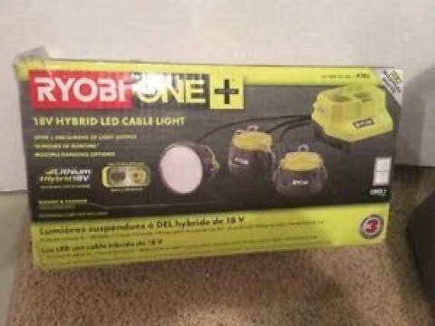 Ryobi One Tool Review Work Light