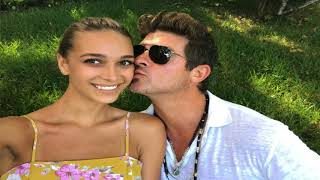 Robin Thicke's 22 year old girlfriend is 3 months pregnant! Singer moved on from Paula Patton!