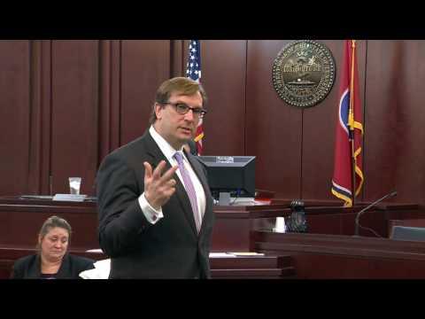 Defense lawyer Worrick Robinson delivers closing arguments in Vandy rape case