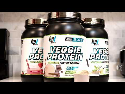 Introducing Veggie Protein from BPI Sports