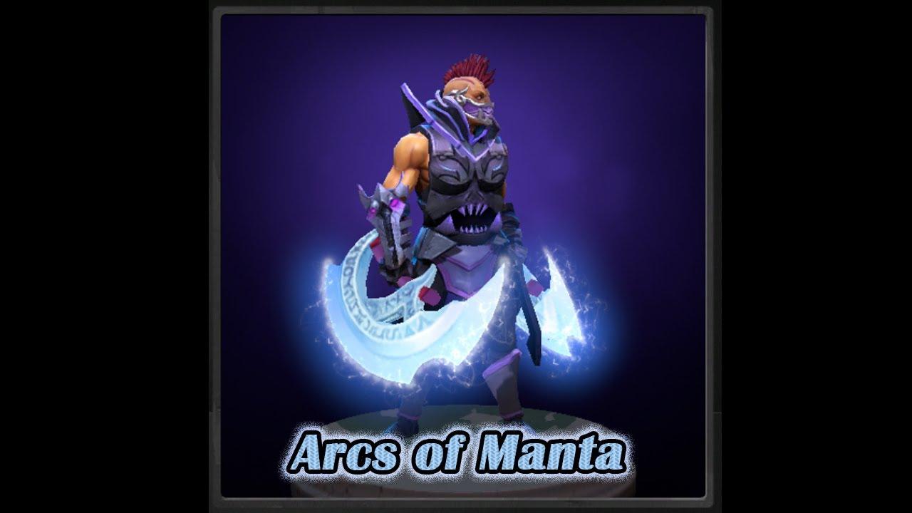 Dota 2 Arcs Of Manta Anti Mage Mythical Blades YouTube