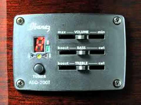 Demo - Test Ibanez V72 ECE