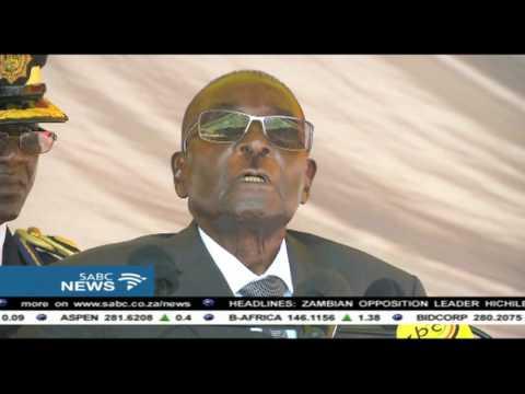 Mugabe lashed out at war veterans
