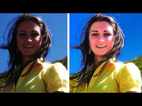 Viveza, HDR, Sharpener Adjustments using Nik collection Part 02 [HINDI] Face white