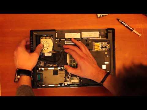 Sustituir procesador en un portátil HP
