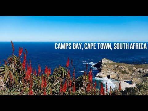 TRAVEL VLOG: CAMPS BAY, CAPE TOWN, SOUTH AFRICA 2017 4K