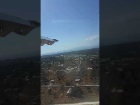 Landing at El Tari Kupang by Trans Nusa Air ATR 72-600