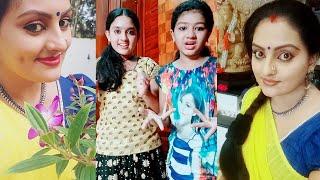 Vanambadi Serial Tik Tok Ft. Padmini Mohan Anumol Thampuru