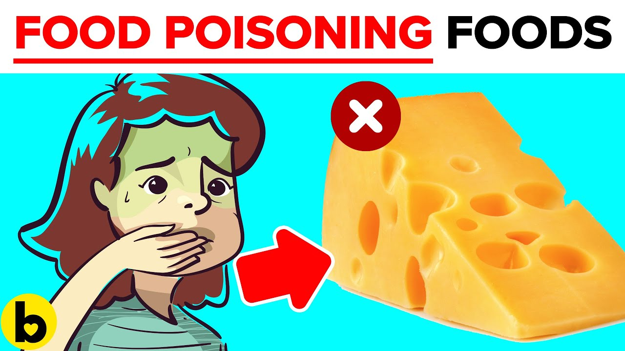 10 Everyday Foods that can give you Food Poisoning