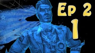 Tales From the Borderlands Ep 2 - Atlas Mugged - Part 1 (Choice Path 1) Tell Truth, Rhys, Catch