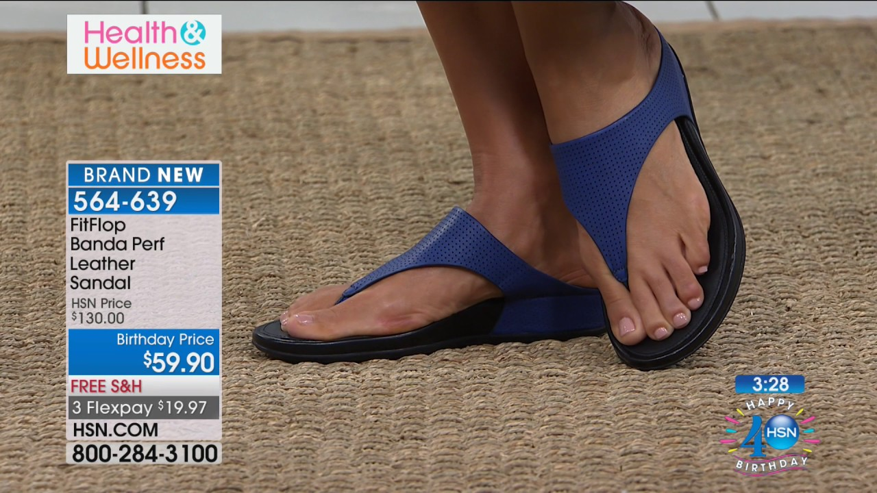699d12da4 FitFlop Banda Perf Leather Sandal - YouTube