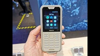 Nokia 800 Tough - hands-on la IFA 2019 | GADGET.RO |
