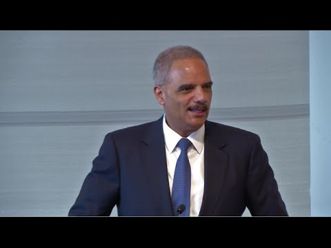 Former Attorney General Eric H. Holder on Automatic Voter Registration