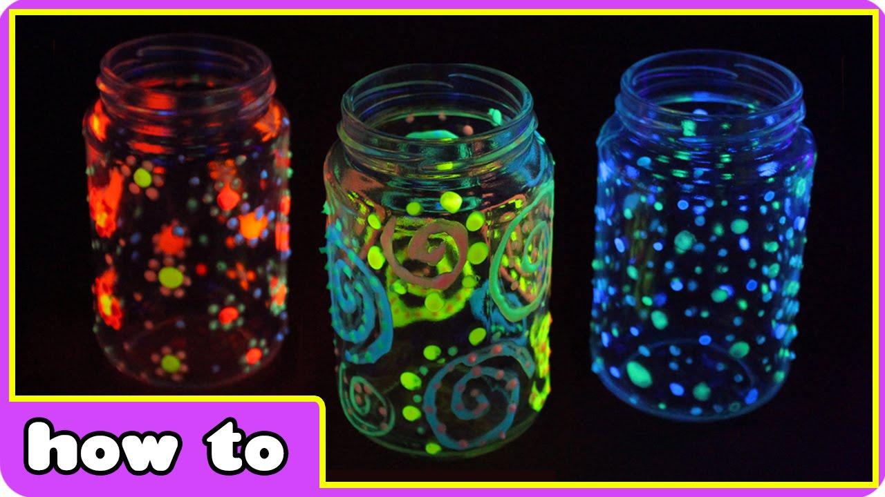 DIY Magical Glowing Jars Craftbnb