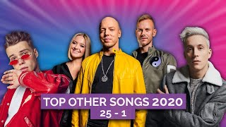 My top Other songs by Eurovision Artists released in 2020   Top 25 to 1
