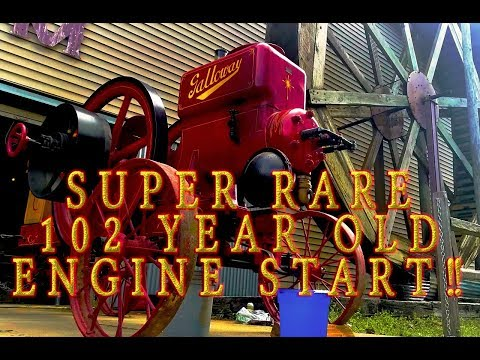 You wont believe how this SUPER RARE 102 year old engine runs!!!