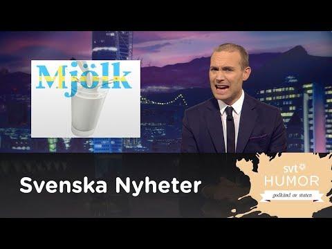 Mjölk med Jesper Rönndahl -  Svenska nyheter