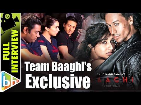 Tiger Shroff   Shraddha Kapoor   Sabbir Khan   Baaghi Success   Full Interview