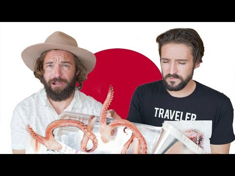 American Brothers Try Japanese Snacks