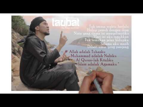 MUSIK ISLAMI - Nasyid Akustik - Taubat by Ray Nine Ball- MEDINA -lirik