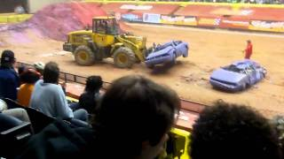 Advance Auto Parts Monster Jam 2011 part 4(Monster Truck show at 1st Mariner Arena in Baltimore Maryland on February 27, 2011., 2011-02-28T23:29:57.000Z)