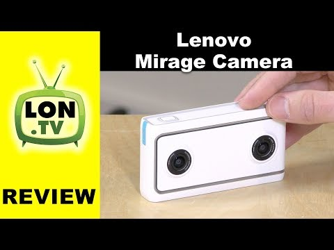Lenovo Mirage VR180 3D Camera Review - Videos and Photos