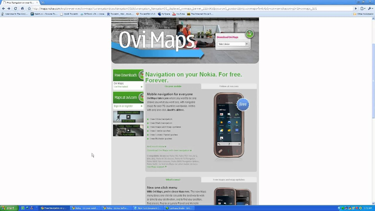 How to install ovi maps step by step youtube how to install ovi maps step by step gumiabroncs Images