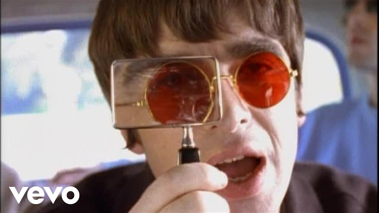 Oasis Don T Look Back In Anger Official Video Youtube