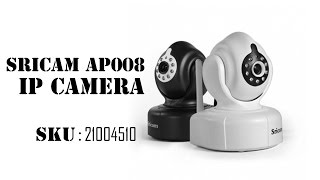 Sricam AP008 Wireless HD 720P P2P IP Camera with IR-CUT